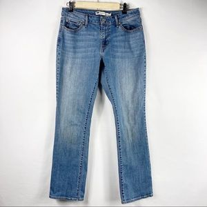LEVI'S Classic Rise Straight Leg Jeans in Size 16